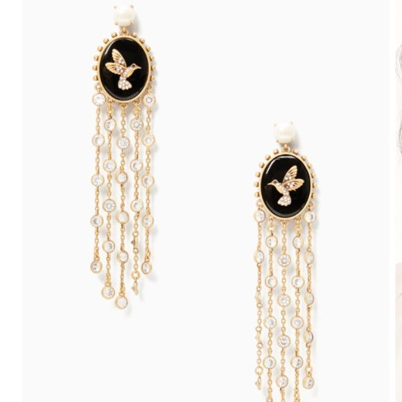 kate spade Jewelry - RARE Grandma's Closet Statement Earrings